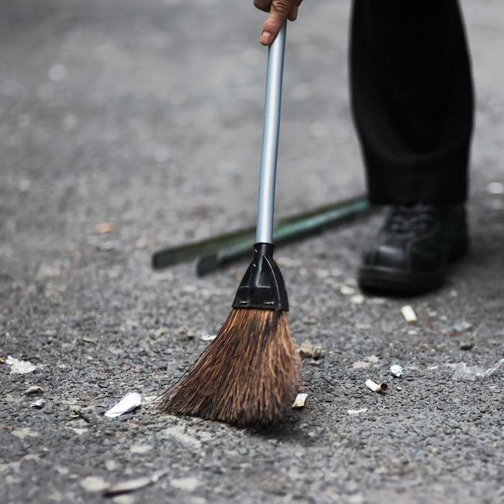 掃除を楽しもう